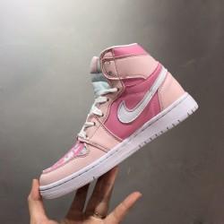 2020 Nike Air Jordan 1 Pink Womens Basketball Shoes AJ1 Sneakers