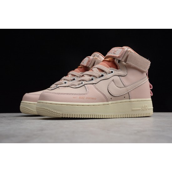2020 Nike Air Force 1 07 High Pink Running Shoes AJ7311 200 Womens AF1 Sneakers
