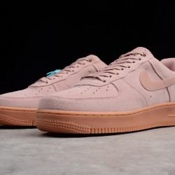 2020 Nike Air Force 1 Pink Running Shoes Brown AF1 AA1117 001 Unisex Sneakers