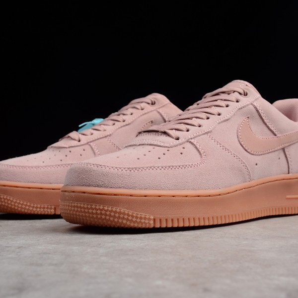 2020 Nike Air Force 1 Pink Running Shoes Brown AF1 AA1117 001 Unisex Sneakers