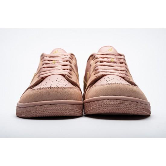 2020 Nike Air Jordan 1 Low Coral Stardust CJ9216 676 Casual Shoes Unisex AJ1 Sneakers
