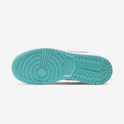 2020 Nike Air Jordan 1 Mid Topaz Mist Basketball Shoes 555112 102 Womens AJ1 Sneakers