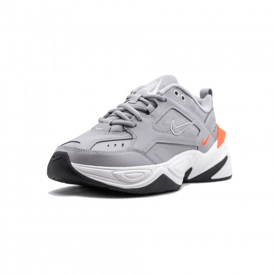 2020 Nike Air Monarch the M2K Tekno Gray Orange Running Shoes AO3108 004 Womens Sneakers
