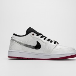 2020 Nike Edison Chen x Air Jordan 1 Low SE Fearless Basketball Shoes CK0687 001 Mens Sneakers