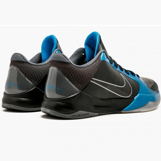 2020 Nike Zoom Kobe V Protro 386429 001 Blue Black Basketball Shoes