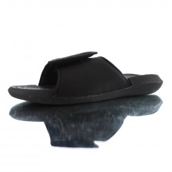 2020 JORDAN HYDRO 6 RETRO All Black white Unisex Sandals