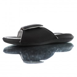 2020 JORDAN HYDRO 6 RETRO Black Grey Unisex Sandals