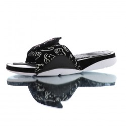 2020 JORDAN HYDRO AJ4 RETRO KAWS Black white Unisex Sandals