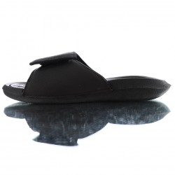 2020 JORDAN HYDRO V RETRO All Black White Unisex Sandals