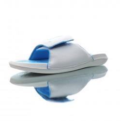 2020 Jordan HYDRO IV White Blue Unisex Sandals