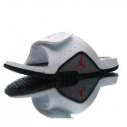 2020 Jordan Hydro IV RetroWhite Black Red Unisex Sandals