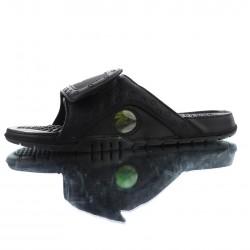 2020 Jordan Hydro XIII Retro All Black Unisex Sandals
