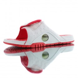 2020 Jordan Hydro XIII Retro White red Unisex Sandals