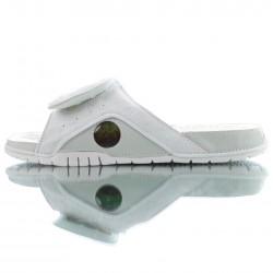 2020 Jordan Hydro XIII Retro all White Unisex Sandals