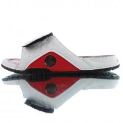 2020 Jordan Hydro XIII Retro white Red Black Unisex Sandals