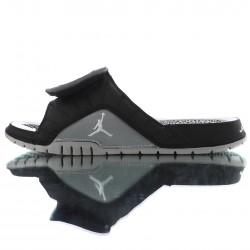 2020 Air Jordan Hydro XII RETRO Black Grey Unisex Sandals