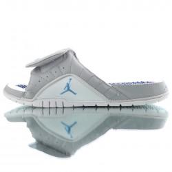 2020 Air Jordan Hydro XII RETRO Grey White Black Unisex Sandals