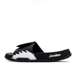 2020 JORDAN HYDRO V RETRO Black White Red Unisex Sandals