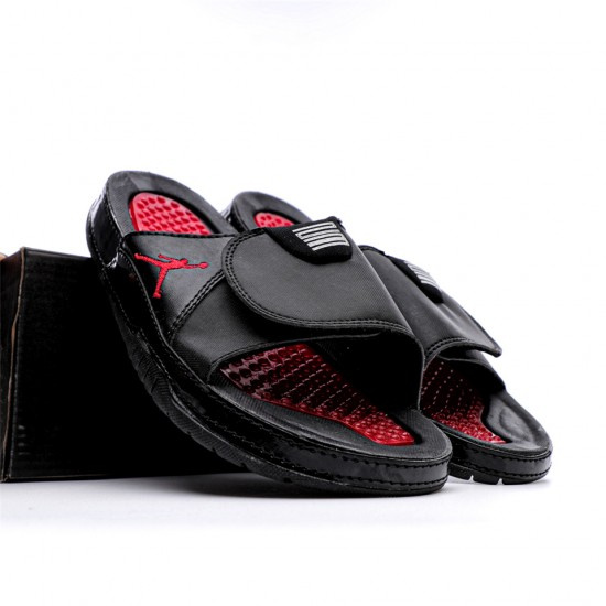 2020 JORDAN HYDRO VI RETRO Black ND Red Unisex Sandals