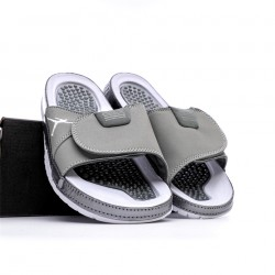 2020 JORDAN HYDRO VI RETRO Grey Unisex Sandals