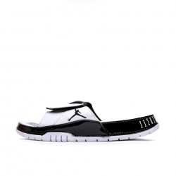 2020 JORDAN HYDRO VI RETRO White Black Grey Unisex Sandals