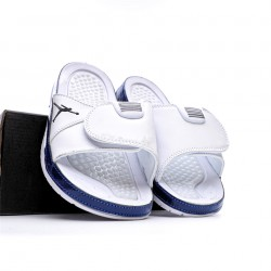2020 JORDAN HYDRO VI RETRO White Blue Unisex Sandals
