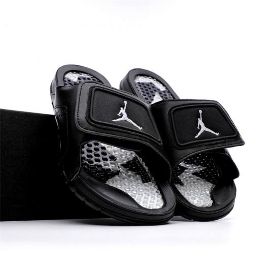 2020 Jordan Hydro VI retro All Black Unisex Sandals
