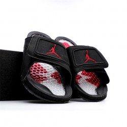 2020 Jordan Hydro VI retro Black Red Unisex Sandals