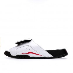 2020 Jordan Hydro VI retro White Black Unisex Sandals