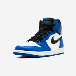"Air Jordan 1 Retro High OG ""Game Royal"" 555088 403 Blue Leather And Rubber Game Royal/Black-Summit White Basketball Shoes"