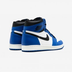 """Air Jordan 1 Retro High OG """"Game Royal"""" 555088 403 Blue Leather And Rubber Game Royal/Black-Summit White Basketball Shoes"""