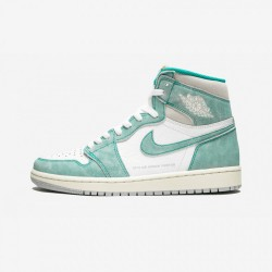 "Air Jordan 1 Retro High OG ""Turbo Green"" 555088 311 Green Turbo Green/Sail-White Basketball Shoes"