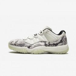 Air Jordan 11 Retro Low CD6846 002 Black Light Bone/Smoke Grey/White-Bl Basketball Shoes