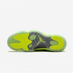 Air Jordan 11 Retro Low IE 919712 700 Neon Green Volt/Volt-Cement Grey Basketball Shoes