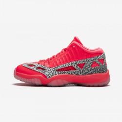 """Air Jordan 11 Retro Low IE """"Flash Crimson"""" 919712 600 InfraRed Flash Crimson/Flash Crimson Basketball Shoes"""