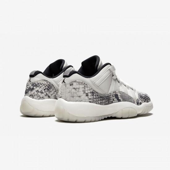 "Air Jordan 11 Retro Low LE GS ""Light Bone"" CD6847 002 Grey Light Bone/University Red-Sail Basketball Shoes"
