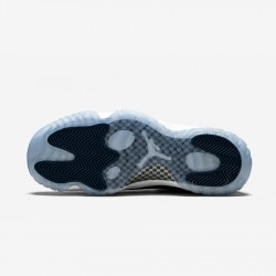 "Air Jordan 11 Retro Low LE ""Snakeskin"" CD6846 102 Black White/Black-Navy Basketball Shoes"