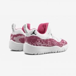 Jordan 11 Retro Little Flex BQ7104 106 Black White/Watermelon/Black Basketball Shoes