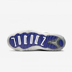 Jordan 11 Retro (PS) 378039 100 Black White/Black-Dark Concord Basketball Shoes