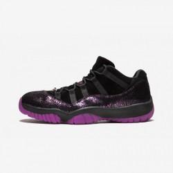 "W Air Jordan 11 RTR L Think 16 ""Rook To Queen"" AR5149 005 Black Black/Fuschia Blast Basketball Shoes"