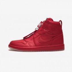 "Air Jordan 1 Womens High Zip AWOK ""Vogue"" BQ0864 601 Red Univ Red/Univ Red-Sail/Black Basketball Shoes"