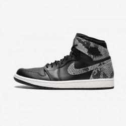 Air Jordan 1 Womens Retro Hi Pre AH7389 014 Black Black/Black-Phantom Basketball Shoes