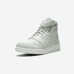 Jordan Womens AJ 1 Rebel 20 AO1530 100 Beige Off White/Off White Basketball Shoes
