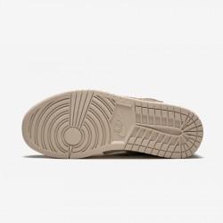 Air Jordan 1 Womens RTR HI PREM UT AV3724 200 Black Beach/Black-Ridgerock Basketball Shoes