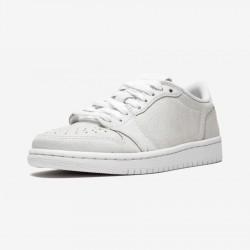 Air Jordan 1 Womens Retro Low NS AH7232 100 White Multi And Rubber White/Metallic Gold-White Basketball Shoes