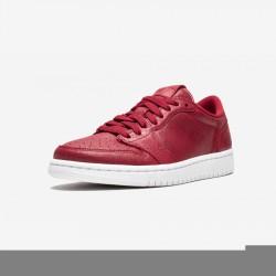 Air Jordan 1 Womens Retro Low NS AH7232 623 Gold Gym Red/Metallic Gold-White Basketball Shoes