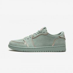 Air Jordan 1 Womens Retro Low NS AO1935 305 Brown Multi And Rubber Mica Green/Mtllc Red Bronze Basketball Shoes