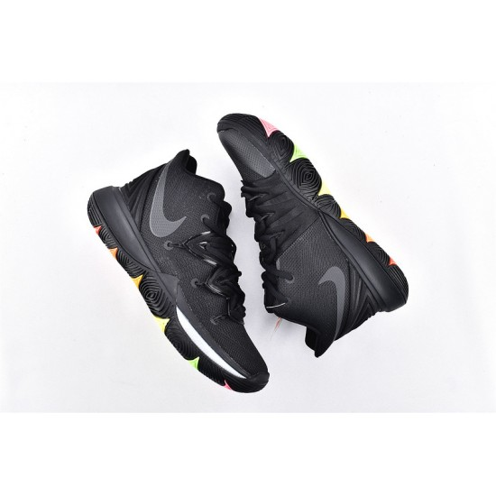 Nike Kyrie 5 Mens Basketball Shoes AO2919-001 All Black Sneakers