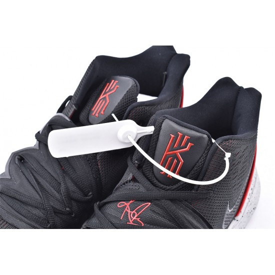 Nike Kyrie 5 Mens Basketball Shoes AO2919-600 Black Red Sneakers