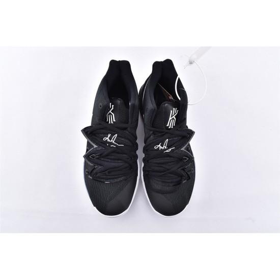 Nike Kyrie 5 Mens Basketball Shoes AO2919-901 Black White Sneakers